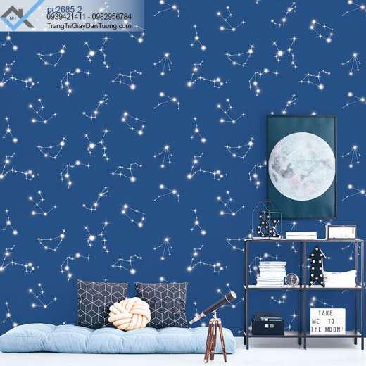 Giấy dán tường ngôi sao-giấy dán tường các vì sao