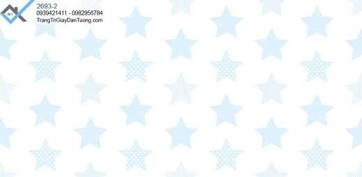 -Giấy dán tường ngôi hình ngôi sao