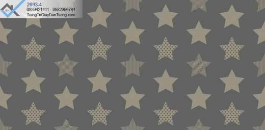 Giấy dán tường hình ngôi sao
