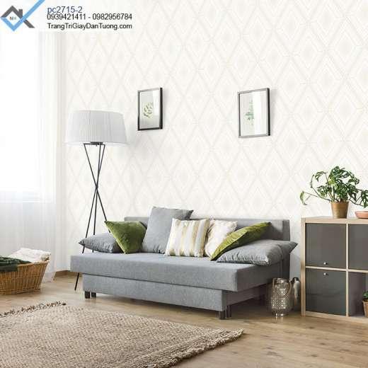 Giấy dán tường hình học-giấy dán tường 3d