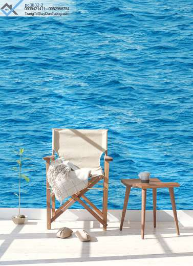 Giấy Dán Tường Nước Biển