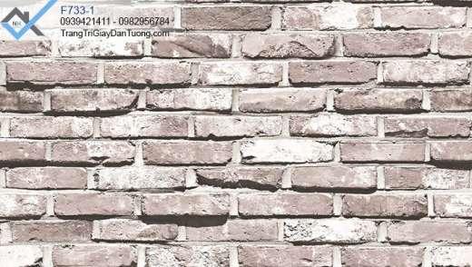 Giấy dán tường giả gạch