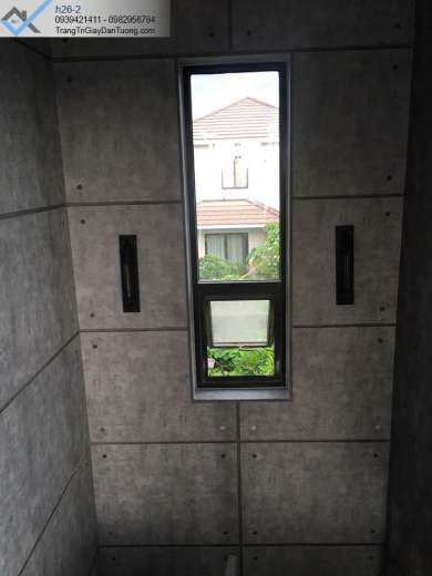 Giấy dán tường giả bê tông-giấy dán tường giả xi măng