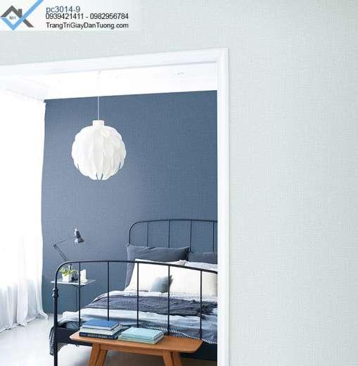 Giấy dán tường màu xanh