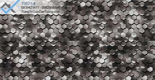 Giấy dán tường hình tổ ong