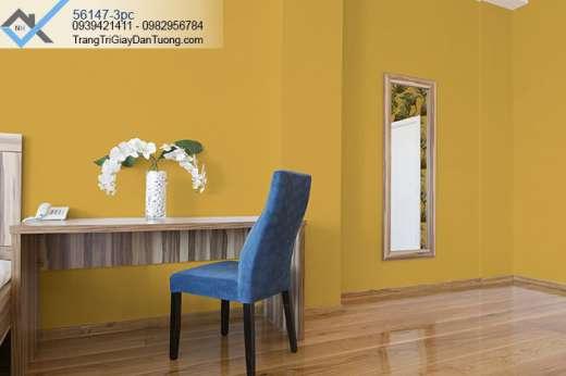 Giấy dán tường màu vàng