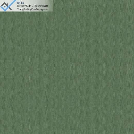 Giấy dán tường vải không dệt màu xanh